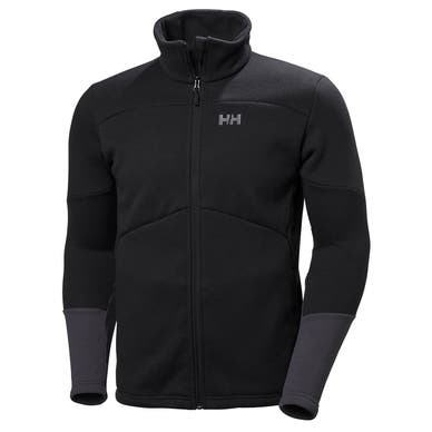 EQ BLACK MIDLAYER JACKET
