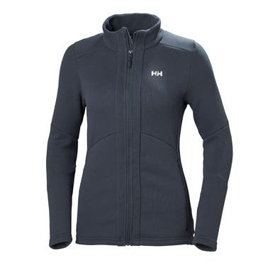 W EQ BLACK MIDLAYER JACKET