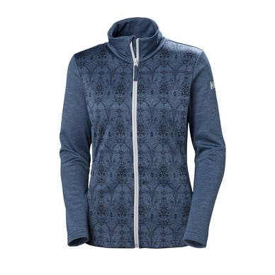 W GRAPHIC FLEECE JACKET