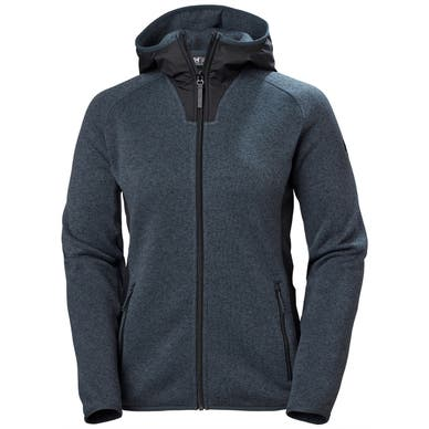 W VARDE HOODED FLEECE JACKET