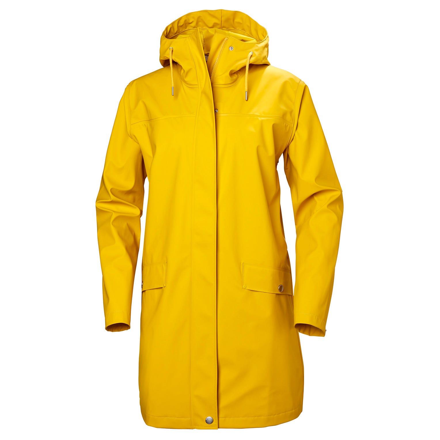 Helly-Hansen mens Moss Waterproof Pu Rain Anorak With Hood
