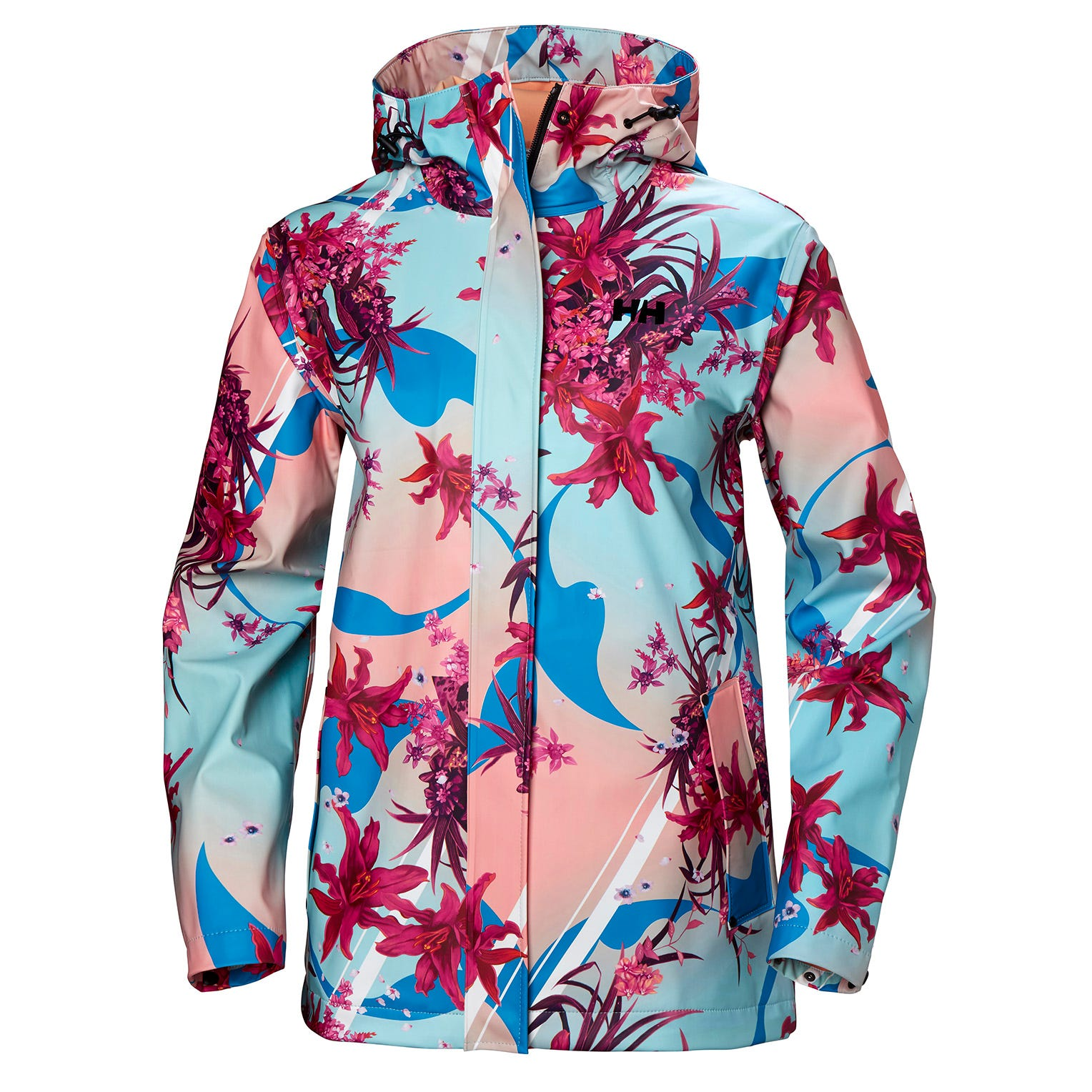 Mujer Helly Hansen Moss Outdoor Chaqueta Impermeable