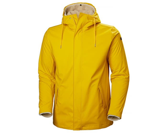 MOSS INSULATED RAIN COAT