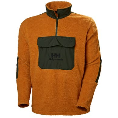 YU 1/2 ZIP PILE SWEATER