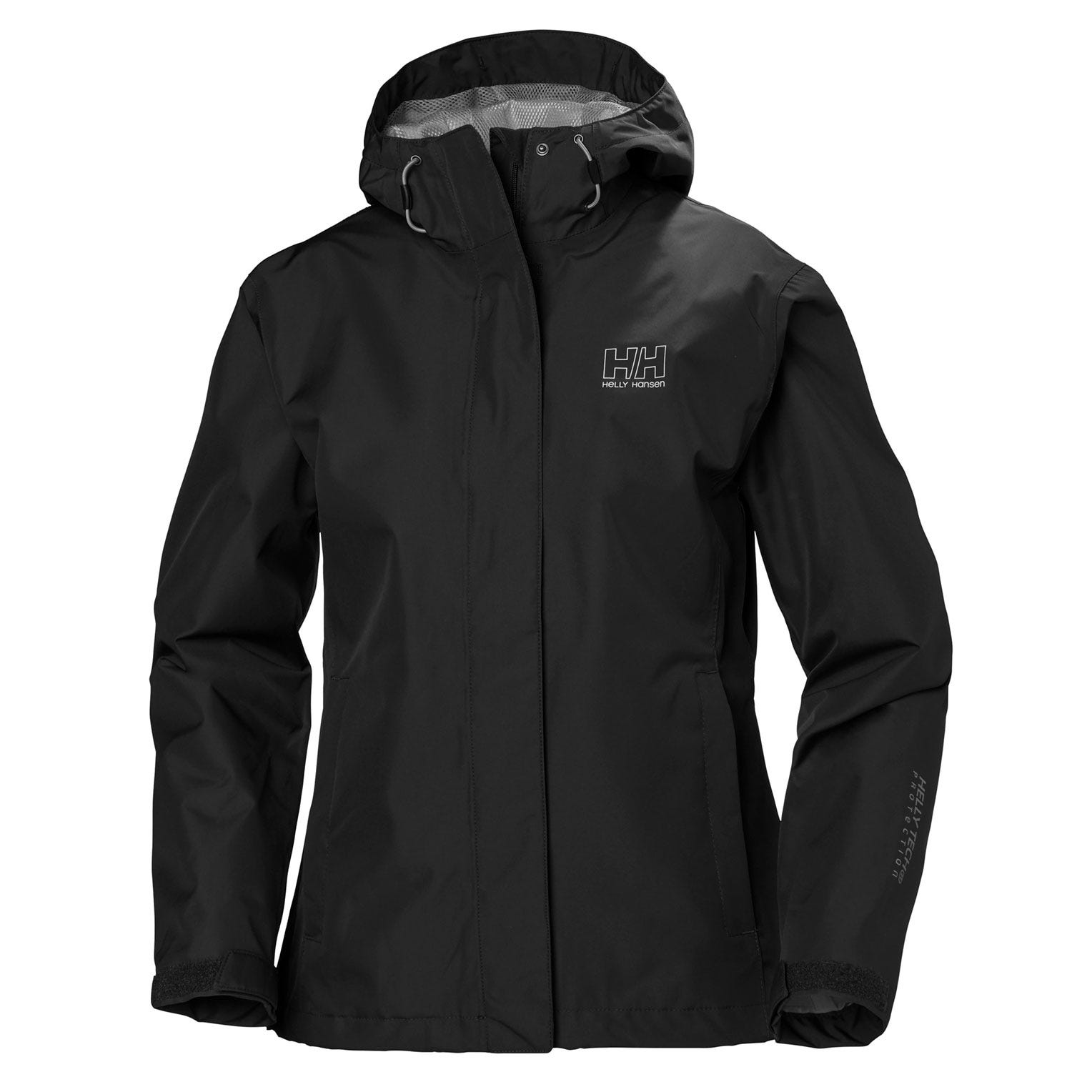 Helly-Hansen mens Seven J Waterproof Windproof and Breathable Rain Jacket With Hood