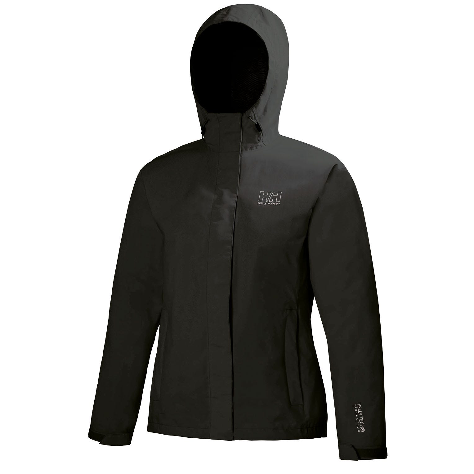 Helly-Hansen Womens Seven J Waterproof Windproof Breathable Rain Coat Jacket