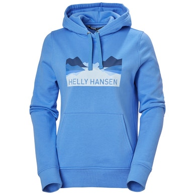 W NORD GRAPHIC PULLOVER HOODIE
