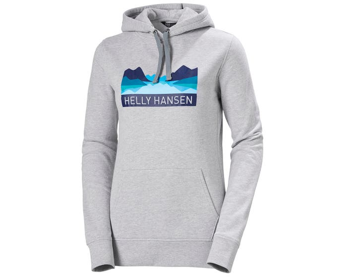 W NORD GRAPHIC PULL OVER HOODIE