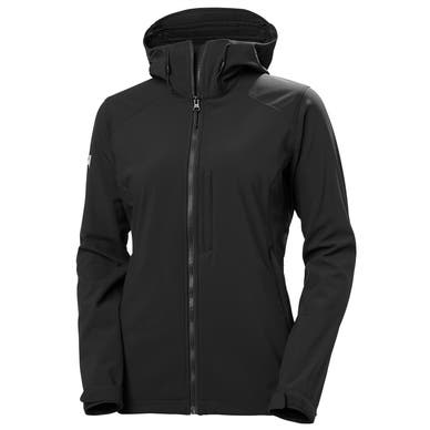 W PARAMOUNT HOODED SOFTSHELL JACKET