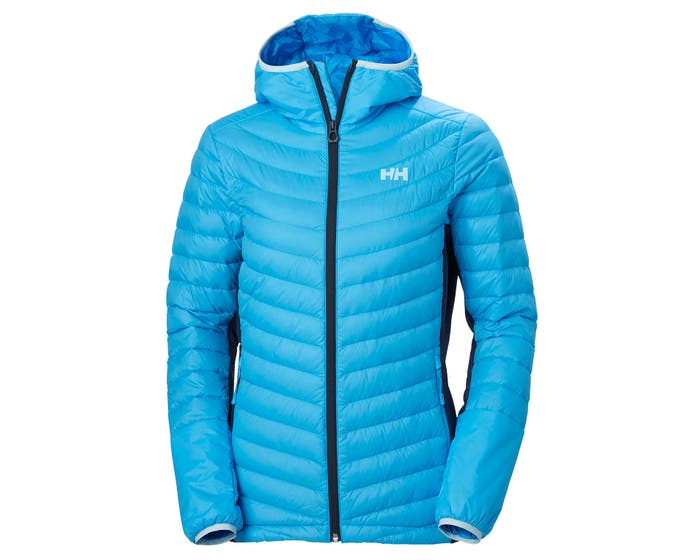 W VERGLAS HOODED DOWN HYBRID INSULATOR