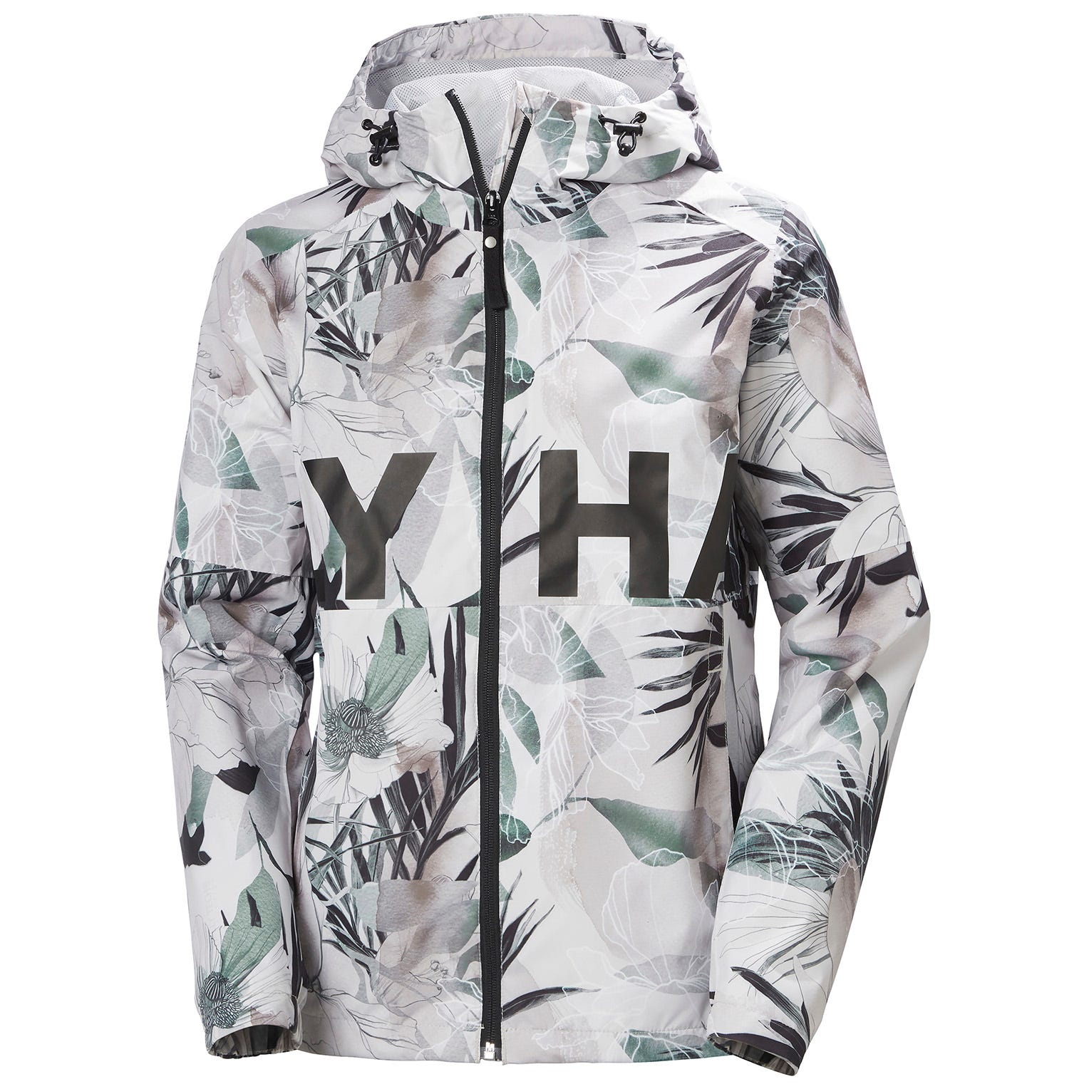 Helly-Hansen Womens Amuze Waterproof Outdoor Rain Jacket With Hood