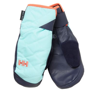 W ULLR LEATHER HT MITTENS