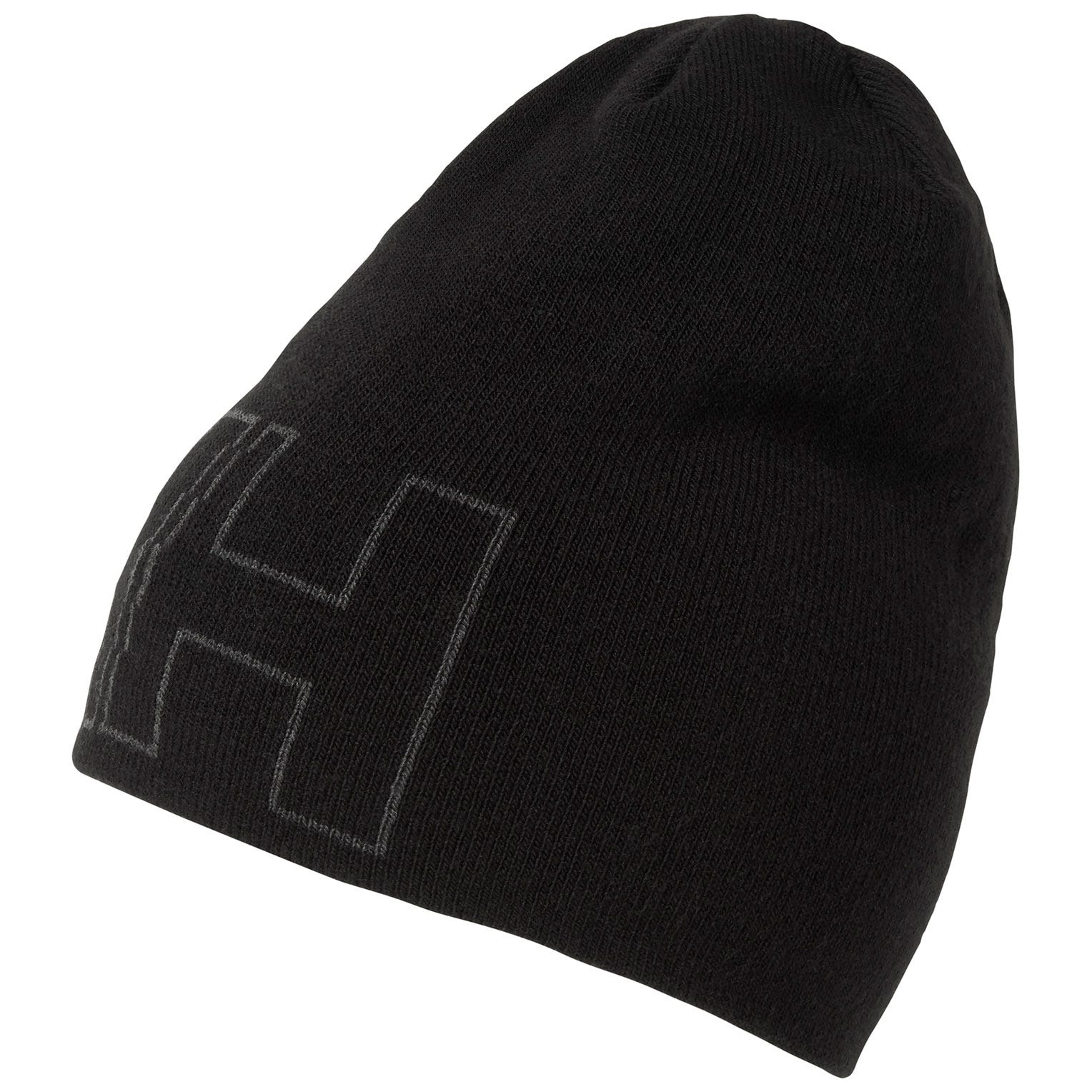 Helly-Hansen Kids /& Baby Outline Knitted HH Iconic Logo Brand Beanie