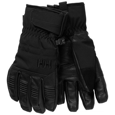LEATHER MIX GLOVE