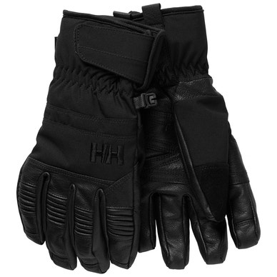 W LEATHER MIX GLOVE