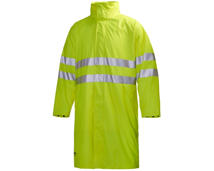 NARVIK CLASS 3 HIGH VIS WORKWEAR RAIN COAT