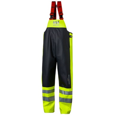 ALNA CLASS 2 HIGH VIS WATERPROOF WORK BIBS