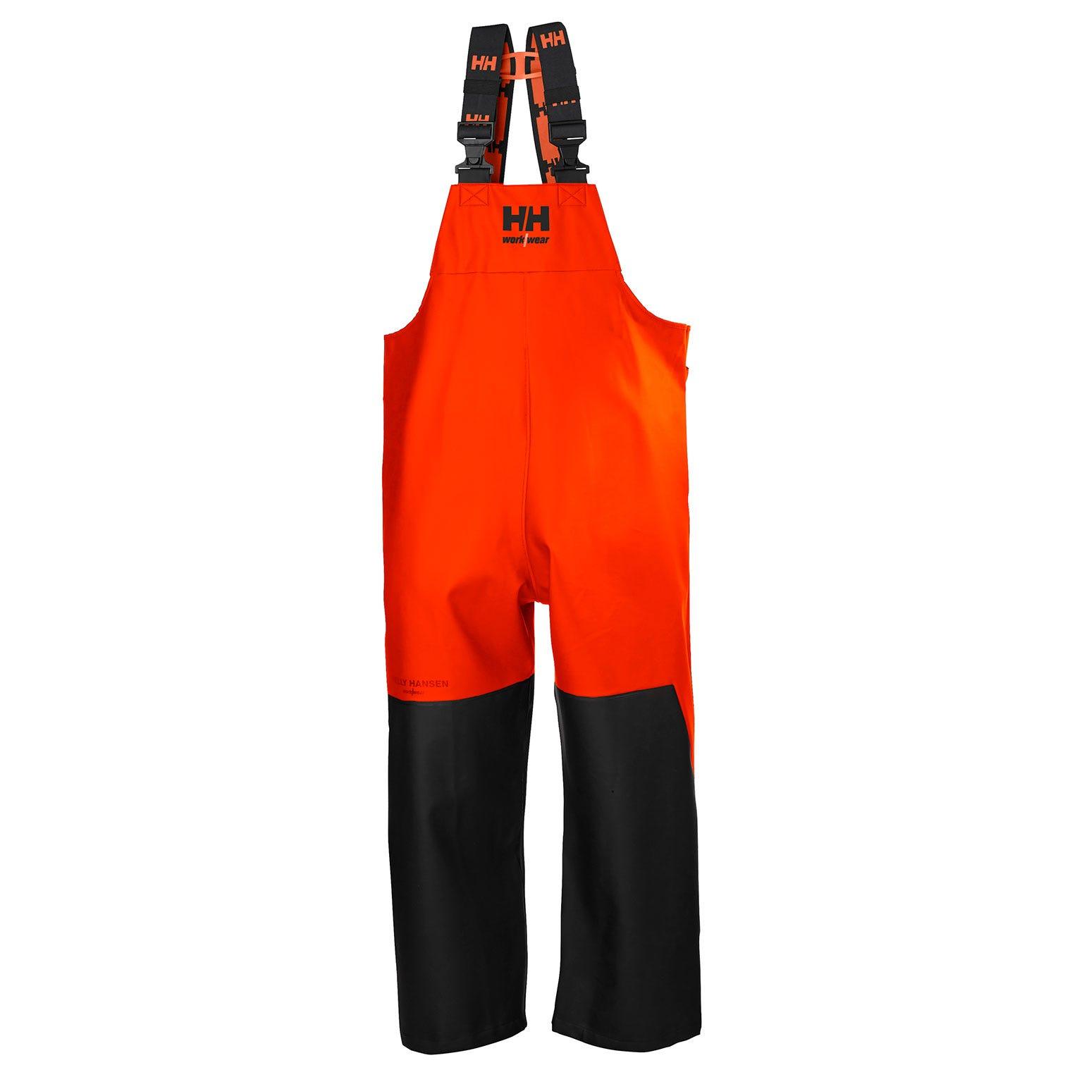 Helly Hansen Am. Overalls Storm 70583 donker oranje-zwart(299)