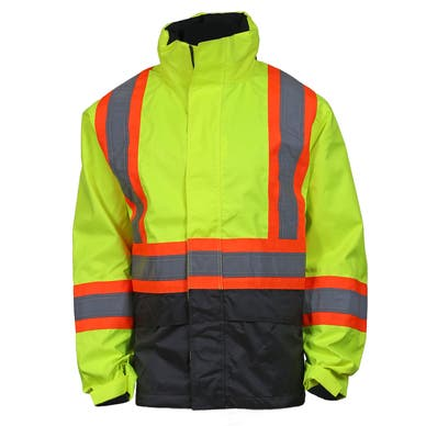 ALTA CLASS 3 HIGH VIS WATERPROOF SHELL JACKET
