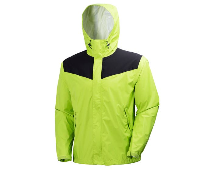 MAGNI REINFORCED HIGH VIS LIGHT RAIN JACKET