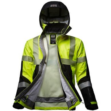 ICU HI VIS 3 LAYER SHELL JACKET