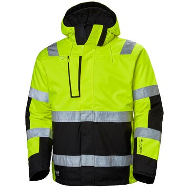 ALNA CLASS 3 HIGH VIS PROTECTIVE SHELL JACKET