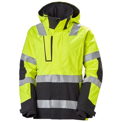 WOMEN'S LUNA HIGH VIS SHELL WORK JACKET