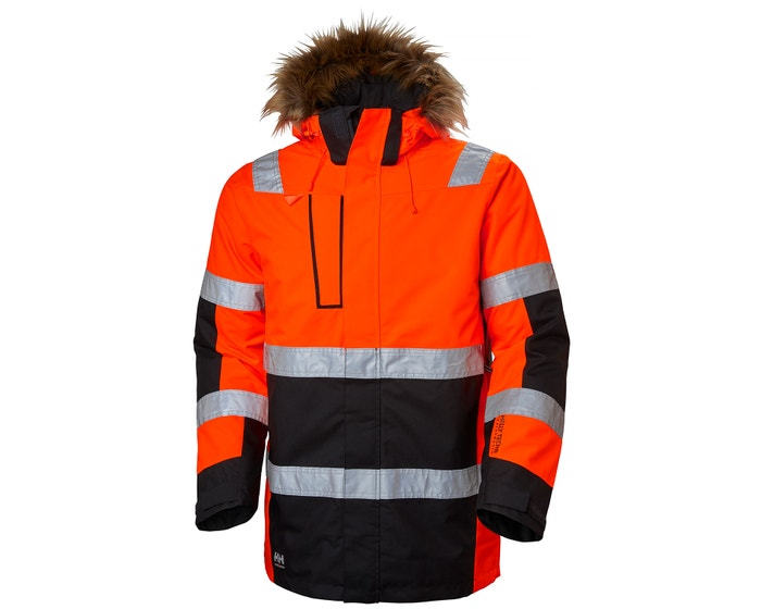 ALNA PRIMALOFT INSULATED HIGH VIS CLASS 3 PARKA