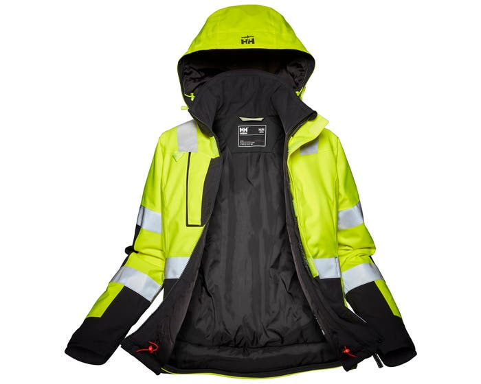W LUNA HI VIS WINTER JACKET