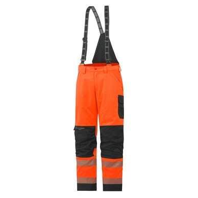 YORK CLASS 2 HIGH VIS INSULATED WORK BIBS