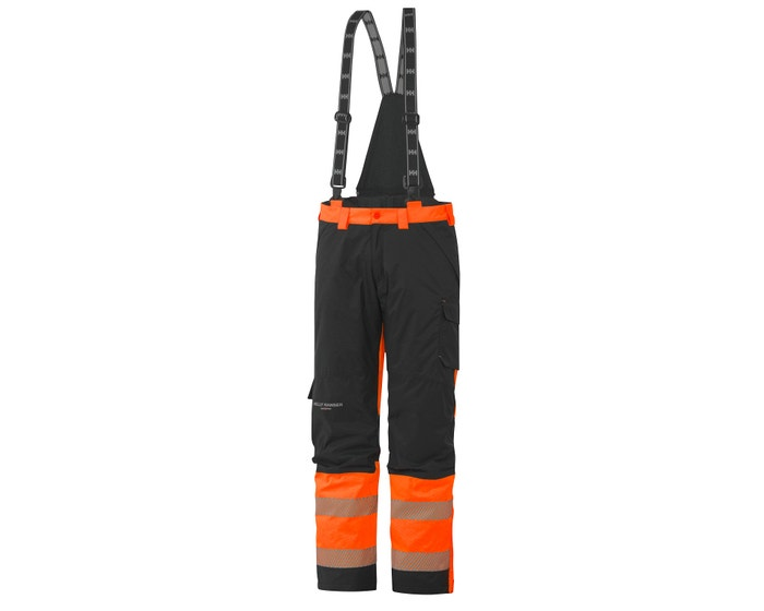 YORK CLASS 1 HIGH VIS INSULATED WORK BIBS