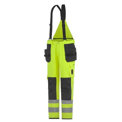 ABERDEEN FLAME RETARDANT HI VIS CLASS 2 INSULATED CONSTRUCTION PANT