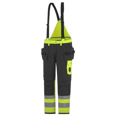 ABERDEEN FLAME RETARDANT HI VIS CLASS 1 INSULATED CONSTRUCTION PANT