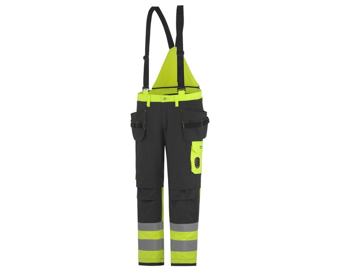 ABERDEEN CLASS 1 HIGH VIS INSULATED WORK BIBS