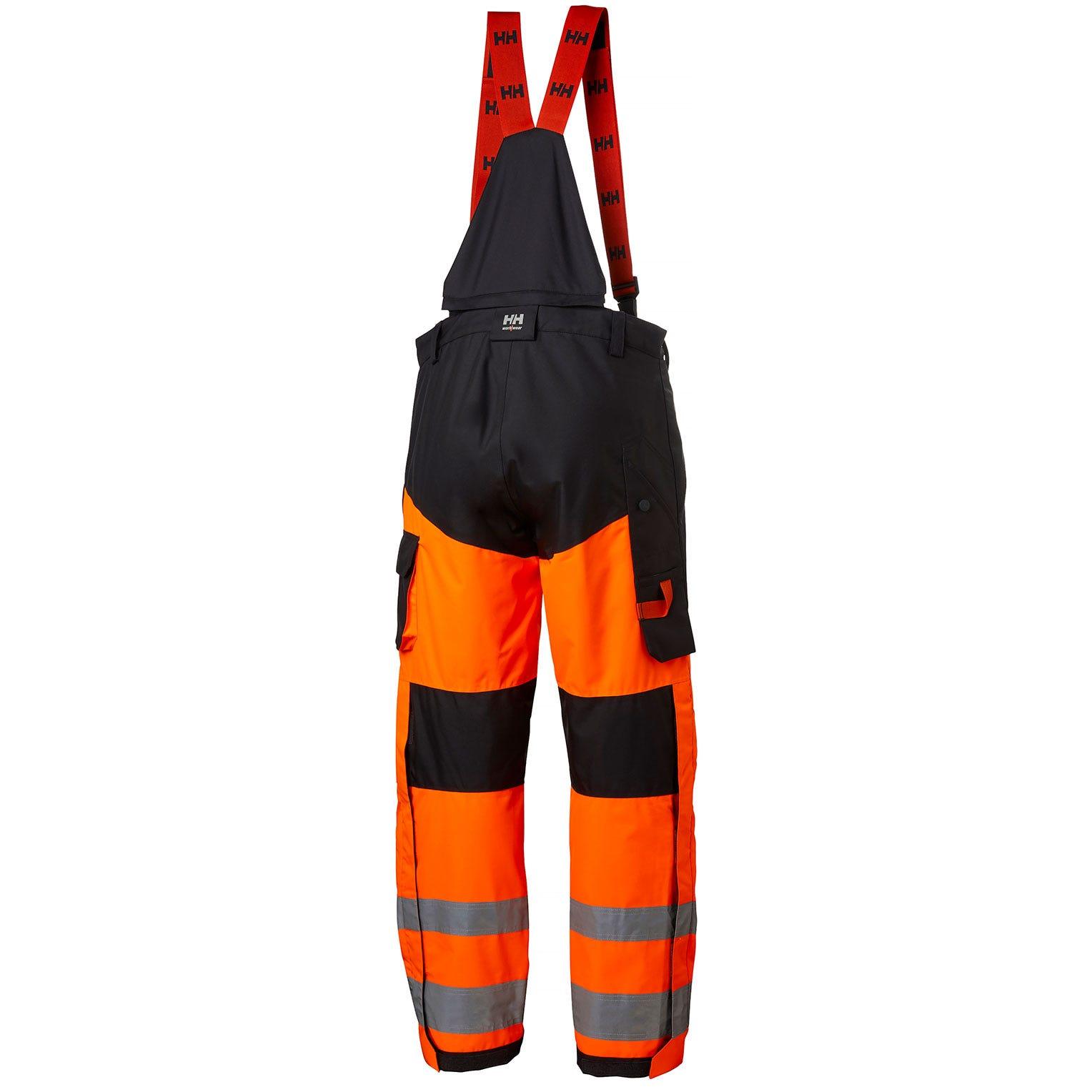 Helly Hansen Winterbroeken Alna 71494 High Vis fluo oranje-ebbenhout(269)