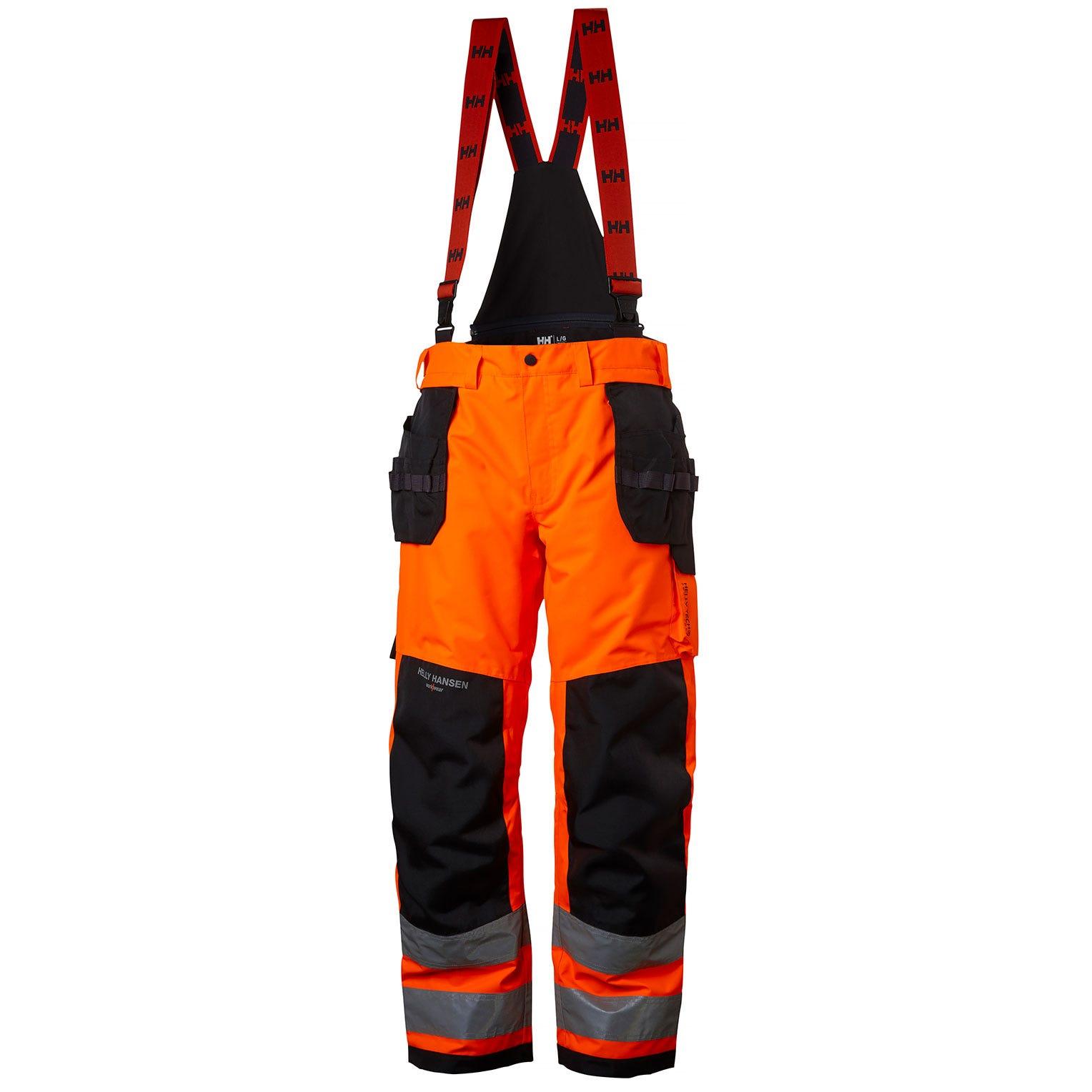 Helly Hansen Broeken Alna 71495 High Vis fluo oranje-ebbenhout(269)