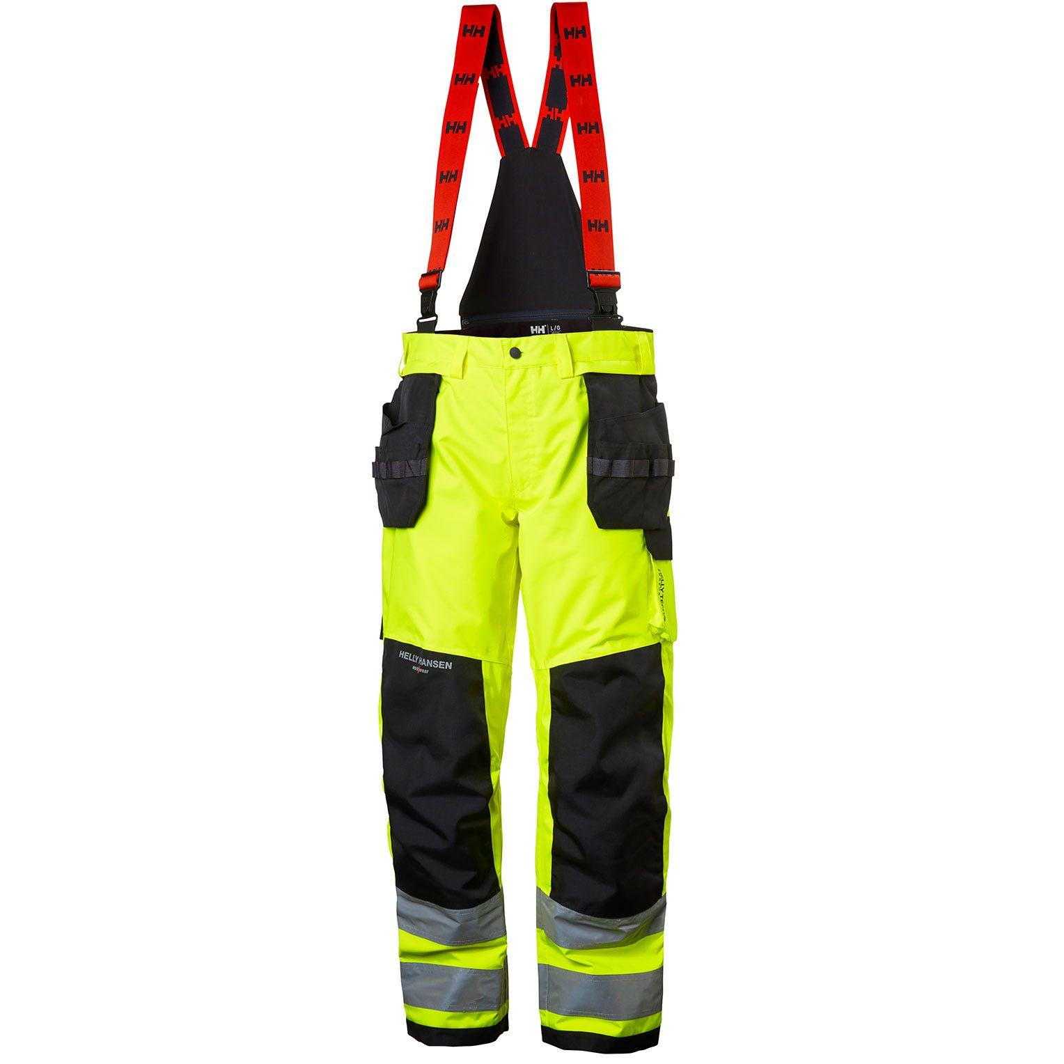 Helly Hansen Winterbroeken Alna 71495 High Vis fluo geel-ebbenhout(369)