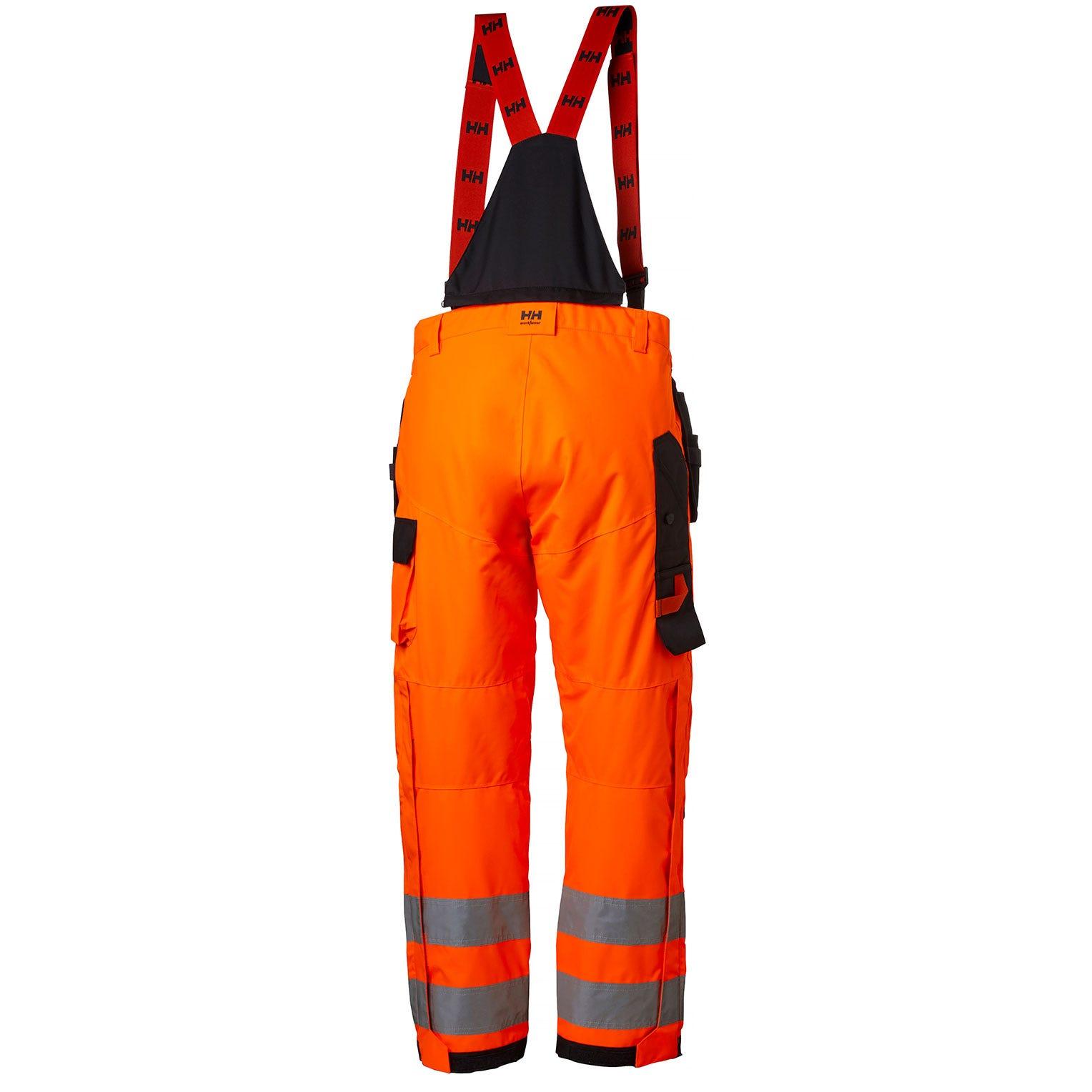 Helly Hansen Regenbroeken Alna 71496 High Vis fluo oranje-ebbenhout(269)
