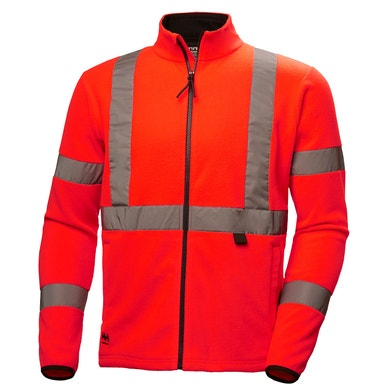 ADDVIS  CLASS 3 INSULATED HIGH VIS FLEECE JACKET