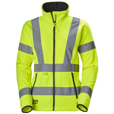 WOMEN'S LUNA HIGH VIS MIDLAYER WORK JACKET