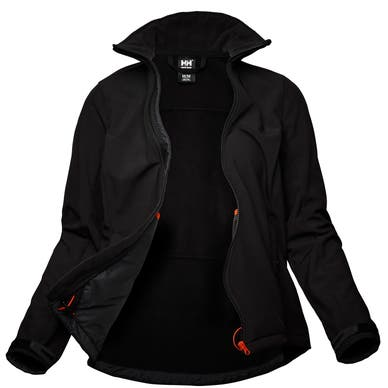 W LUNA SOFTSHELL JACKET