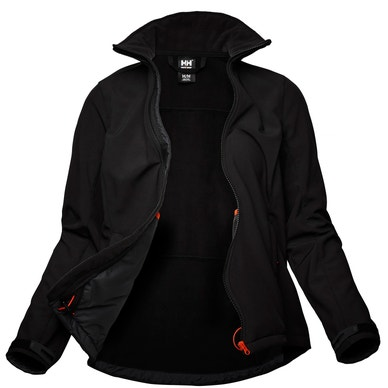 LUNA WOMEN'S WATER RESISTENCE SOFTSHELL JACKET