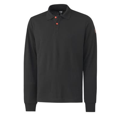 FAKSE FLAME RETARDANT ANTISTATIC LONGSLEEVE POLO