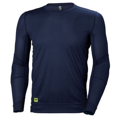 HH LOFA LONG SLEEVE MOISTURE WICKING CREWNECK