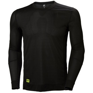 HH LIFA LONG SLEEVE MOISTURE WICKING CREWNECK