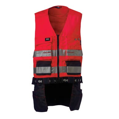 BRIDGEWATER HI VIS CLASS 1 CONSTRUCTION VEST