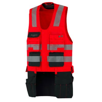 YORK HI VIS CLASS 1 CONSTRUCTION VEST