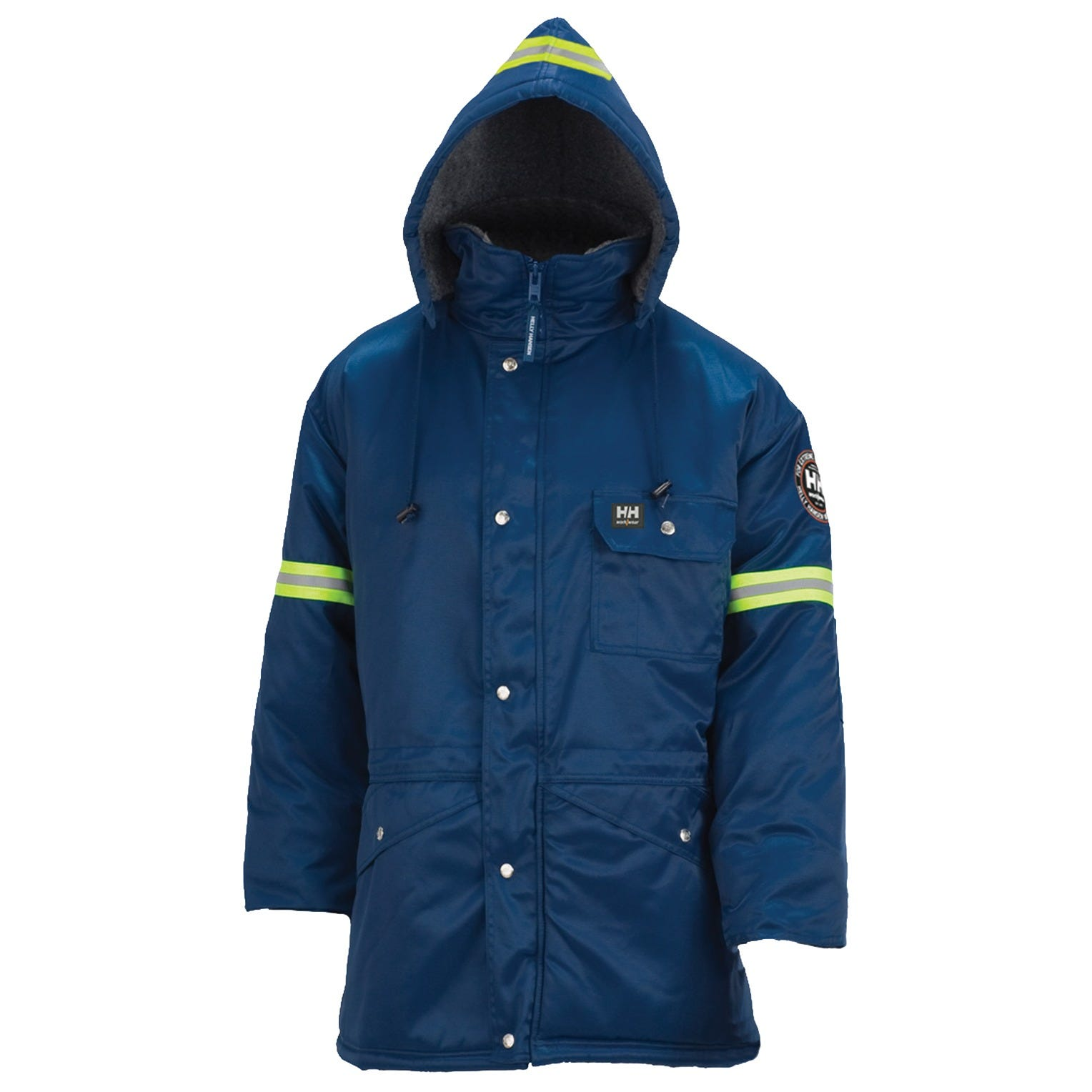 Helly Hansen Workwear Mens Thompson Reflective Parka Jacket Helly Hansen Men/'s Workwear 76312