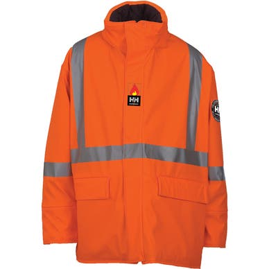 HOPEDALE FIRE RETARDANT INSULATED WORK PARKA