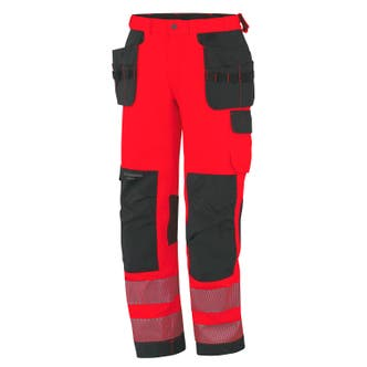 YORK HI VIS CLASS 2 CONSTRUCTION PANT